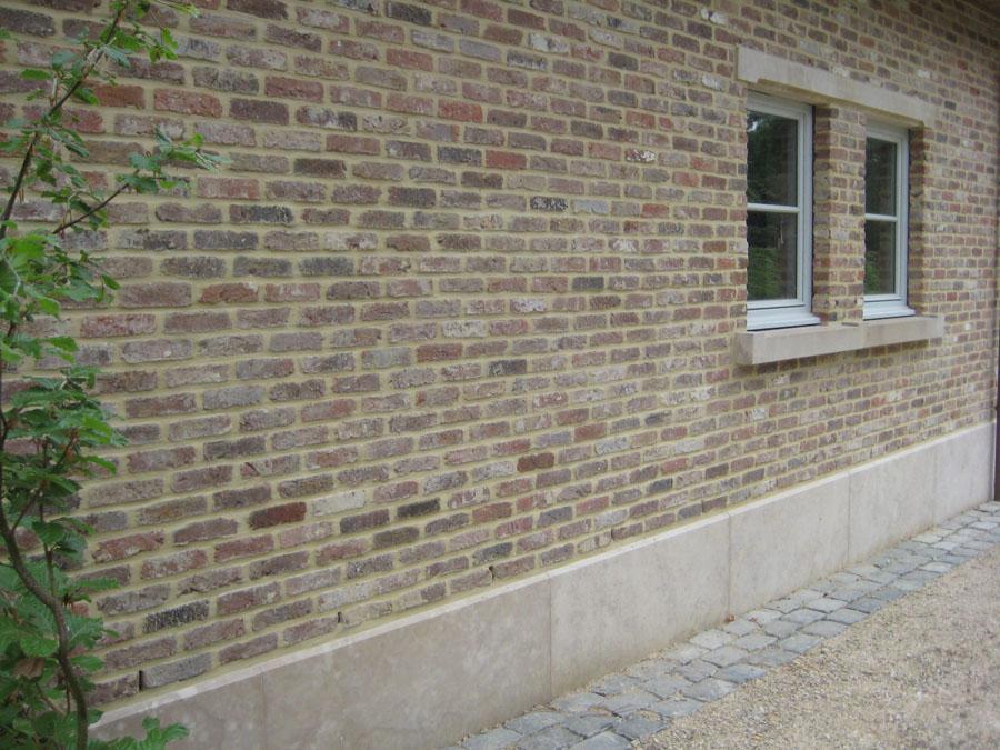 Project in kalksteen Massengis