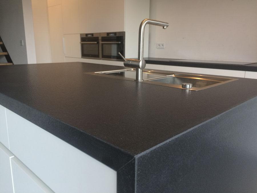 Keuken in graniet black I verzoet